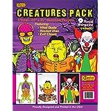 """GunFun Creature Series - 23"""" x 35"""" 9 Pack"""
