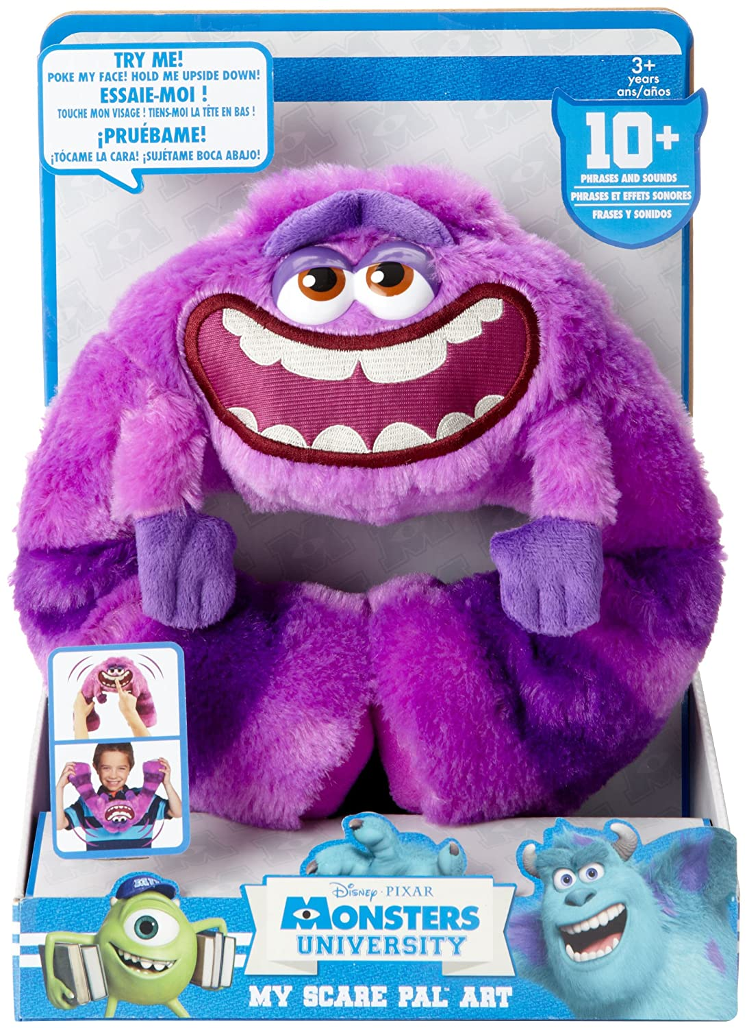 Amazon monsters university my scare pal art toys games voltagebd Choice Image