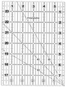 "Fiskars Folding Ruler, 6"" x 24"""