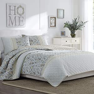 Nostalgia Home Catherine Quilt, Full/Queen, Multi
