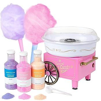 how to use nostalgia cotton candy machine