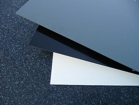 1 PVC Hartschaumplatte Kunststoffplatte weiß 1000x500x13mm