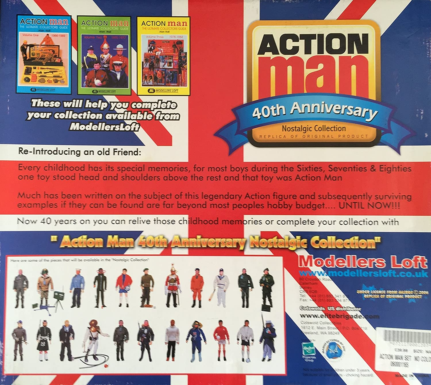 action man 40th anniversary nostalgic collection famous football action man 40th anniversary nostalgic collection famous football clubs chelsea includes action man chelsea football kit box set brand new shop stock
