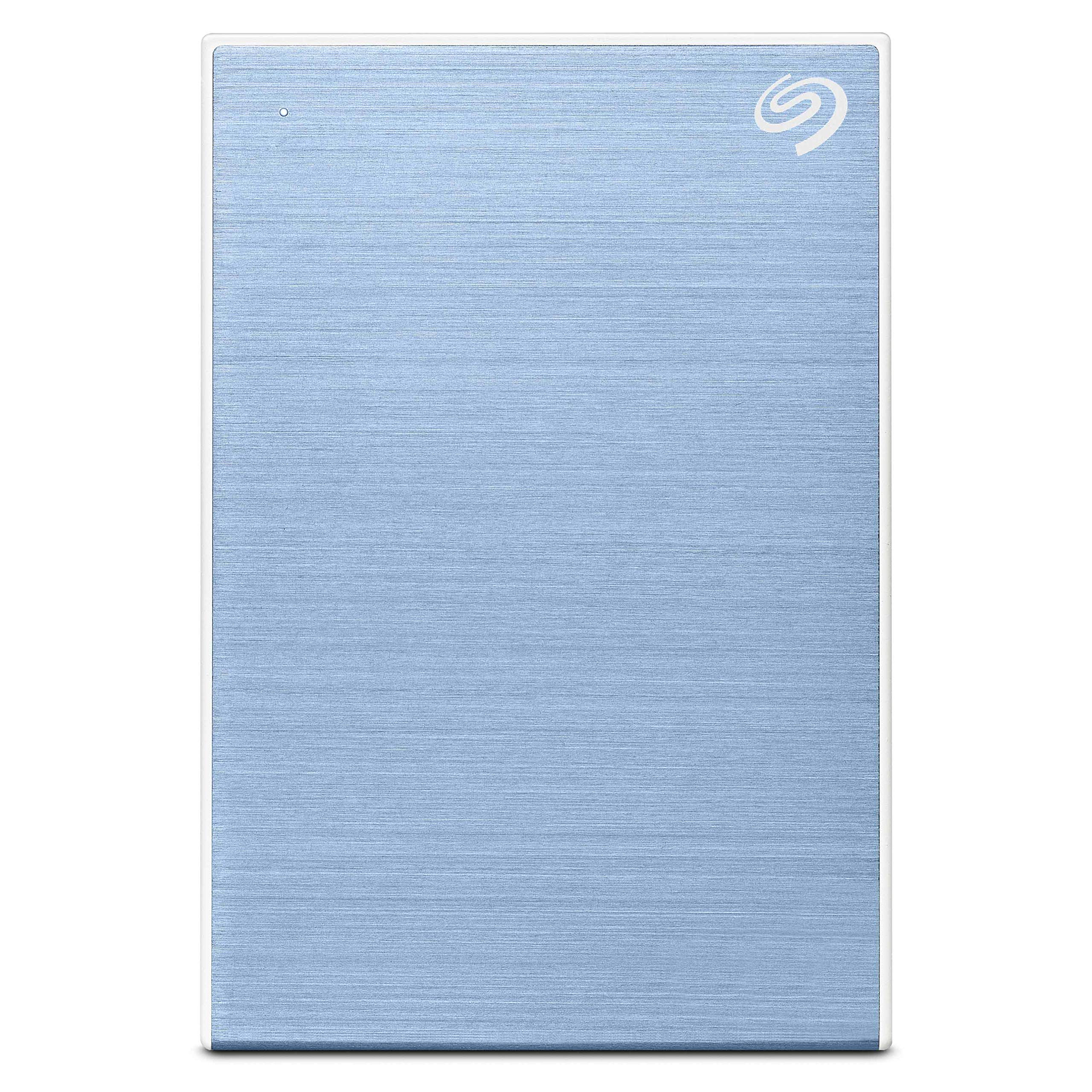 Seagate Backup Plus Slim 1TB External Hard Drive Portable HDD – Light Blue USB 3.0 for PC Laptop and Mac, 1 Year Mylio Create, 2 Months Adobe CC Photography (STHN1000402) product image