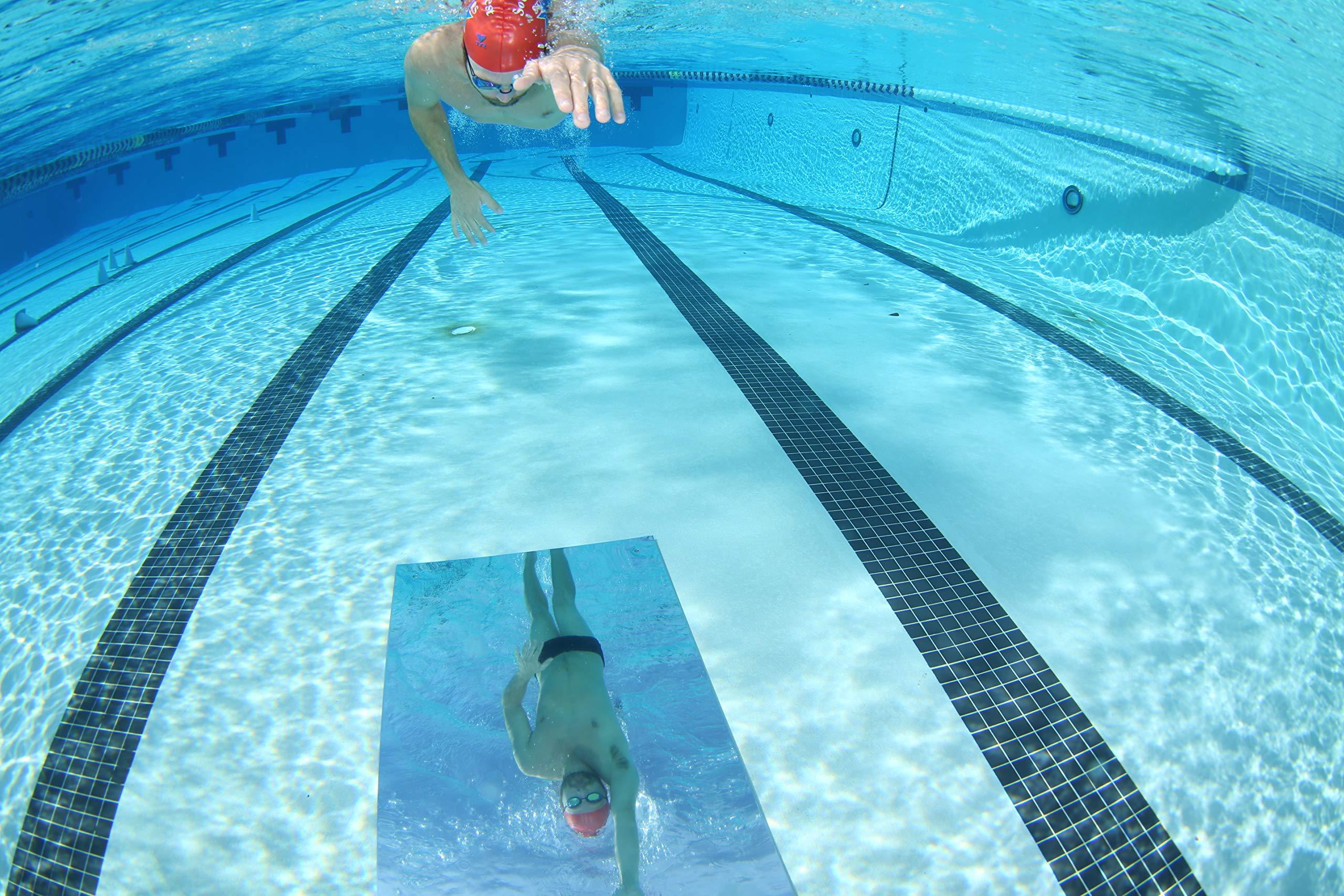 SwimMirror - The Ultimate Underwater Swim Training Pool Mirror Endorsed by Rowdy Gaines and Amanda Beard