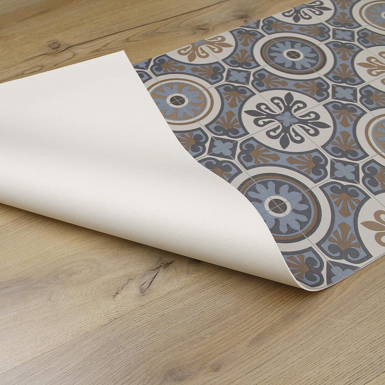 Ancho 50 cm al medio metro fondo de PVC expandido ba/ño Alfombra de vinilo para cocina Alfombra de vinilo