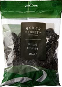 Genoa Foods Pitted Prunes, 350 g, No Flavor Available