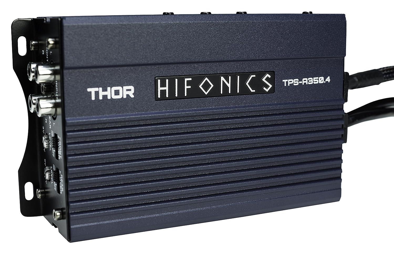 350 Watt Powersports Amplifier Hifonics TPS-A350.4 Compact Four Channel