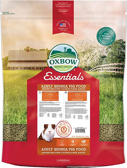 Oxbow Essentials Deluxe Adult Guinea Pig Food - 25 b.
