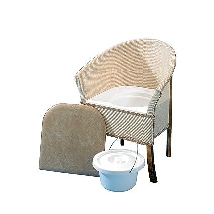 Homecraft - Sedia con WC, da camera da letto: Amazon.it: Salute e ...