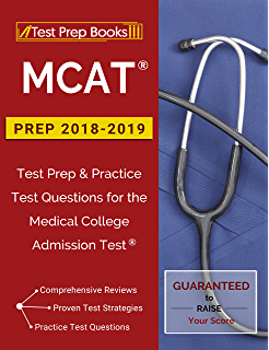 Amazon com: MCAT – The Official Guide to the MCAT® Exam, Fifth