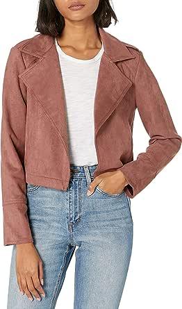 Jack by BB Dakota Women's Faux Suede Moto Jacket
