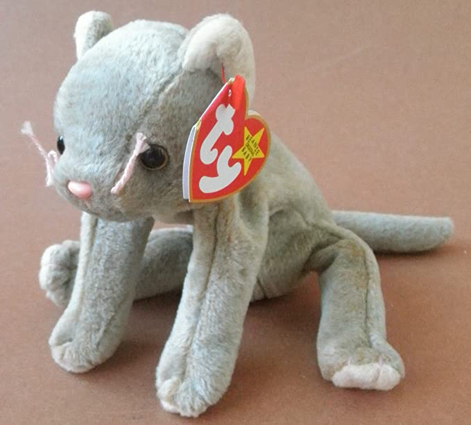 Amazon.com  TY Beanie Babies Scat The Cat Plush Toy Stuffed Animal by  G15094839  Toys   Games 942e87b07913