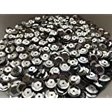 Sequins 8mm 800/Pkg Silver