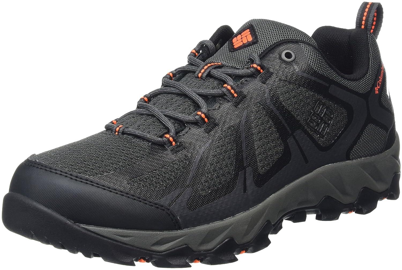 Grey (Shark  Blaze) Columbia Men's Peakfreak XCRSN Ii Xcel- Low Outdry Rise Hiking shoes