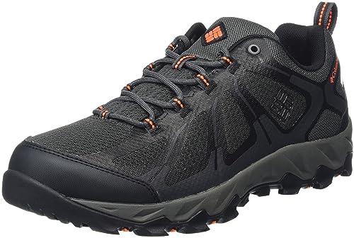 Columbia Men's Multisport Shoes, Waterproof, Peakfreak XCRSN II XCEL Low,  Grey (Shark