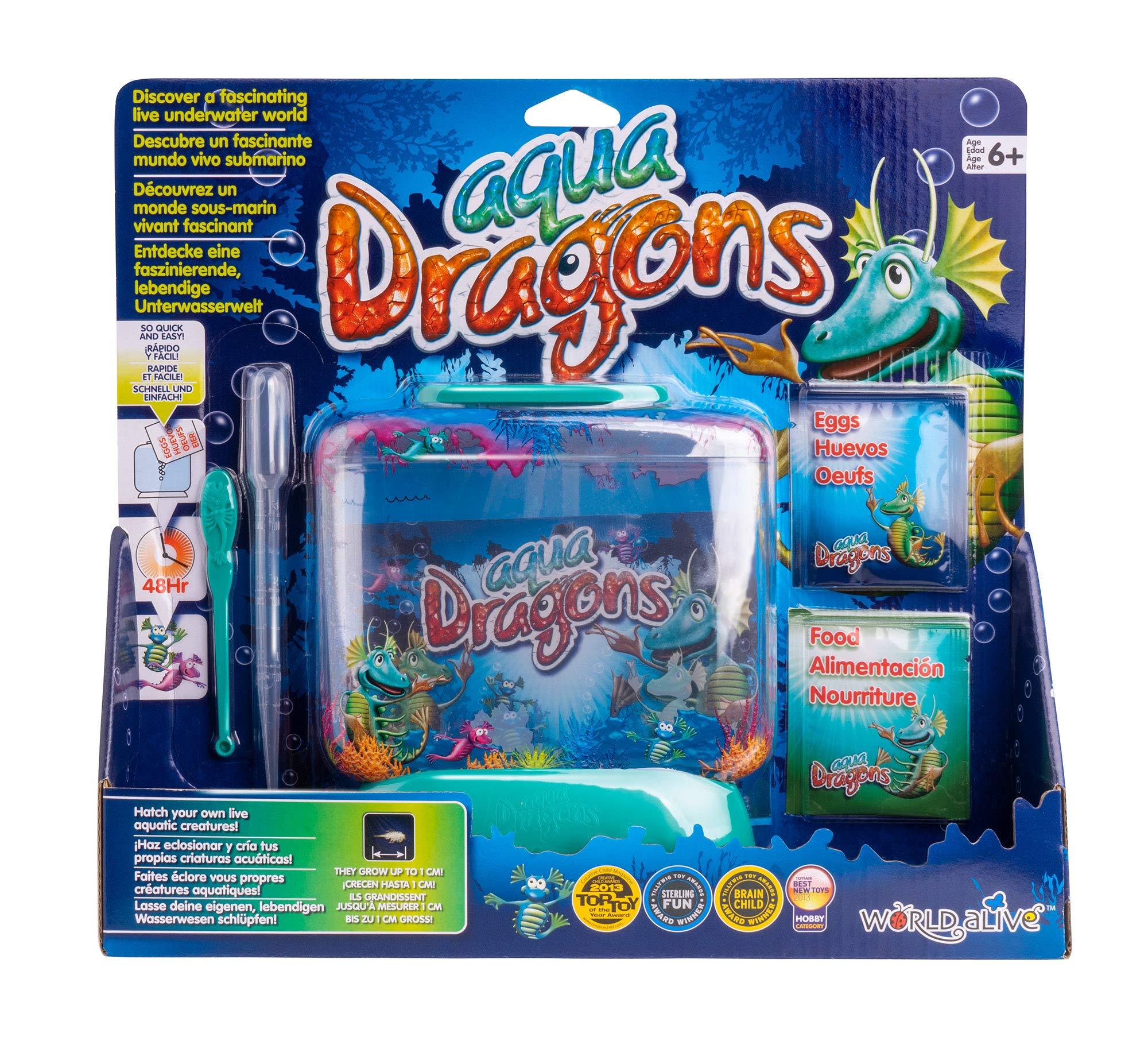 Aqua Dragons ID4001 World, Multicolor