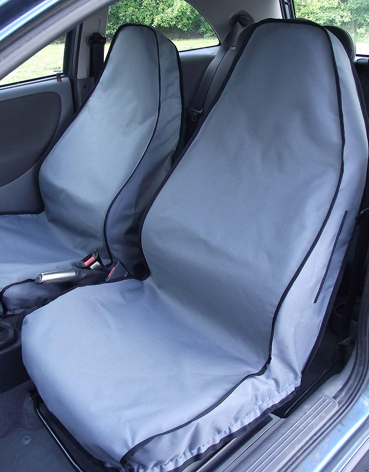 Titan Waterproof Car Front Seat Covers Black