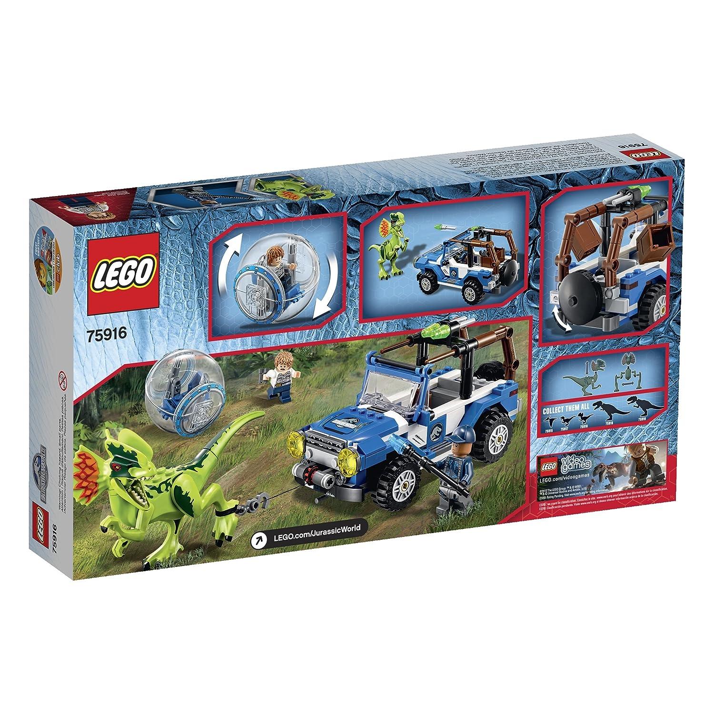 LEGO Jurassic World Dilophosaurus Ambush 75916 Building Kit: Amazon.co.uk:  Toys U0026 Games