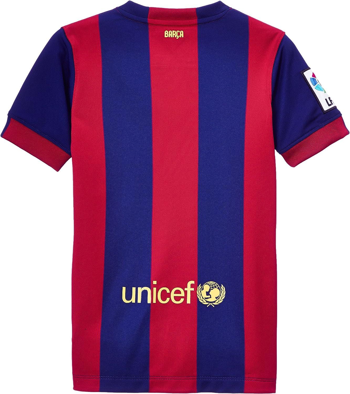 NIKE 2014/15 FC Barcelona Stadium Home - Camiseta/Camisa Deportiva ...
