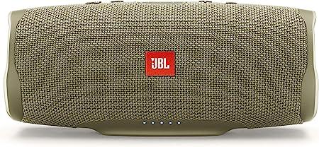 Oferta amazon: JBL Charge 4 - Altavoz inalámbrico portátil con Bluetooth, parlante resistente al agua (IPX7), JBL Connect+, hasta 20 h de reproducción con sonido de alta fidelidad, arena