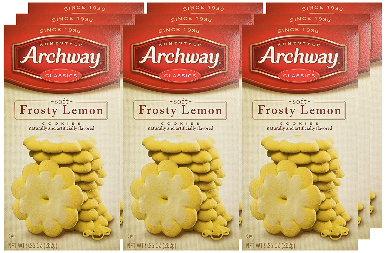 Amazon.com: Archway Cookies, Frosty Lemon, 9.25 Ounce (Pack of 9)