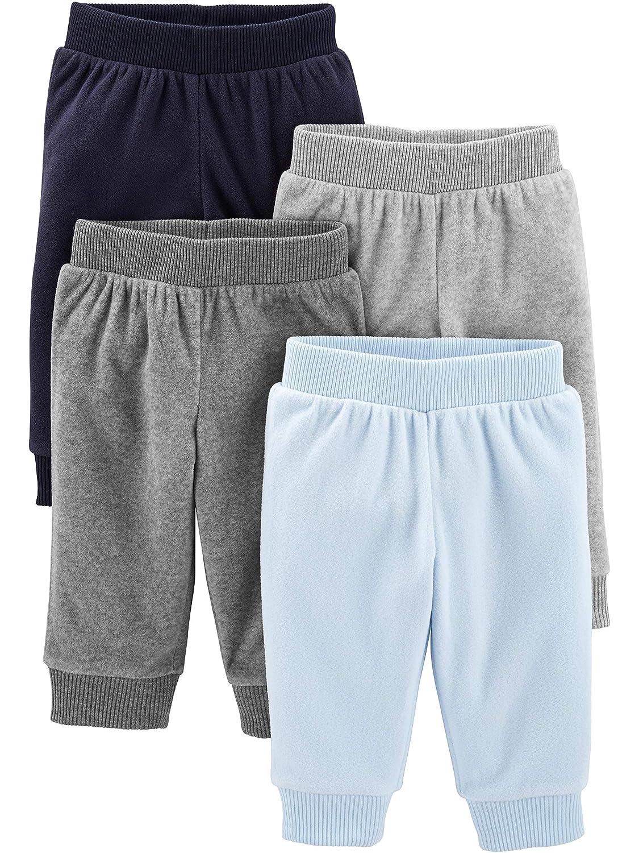 Simple Joys by Carters Baby Boys 4-Pack Fleece Pants