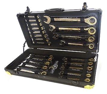 Ratschenringschlüssel-Satz Ringschlüssel Knarrenschlüssel-Set Schraubenschlüssel