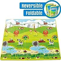 Hape Reversible Foldable Baby Playmat & Carry Case