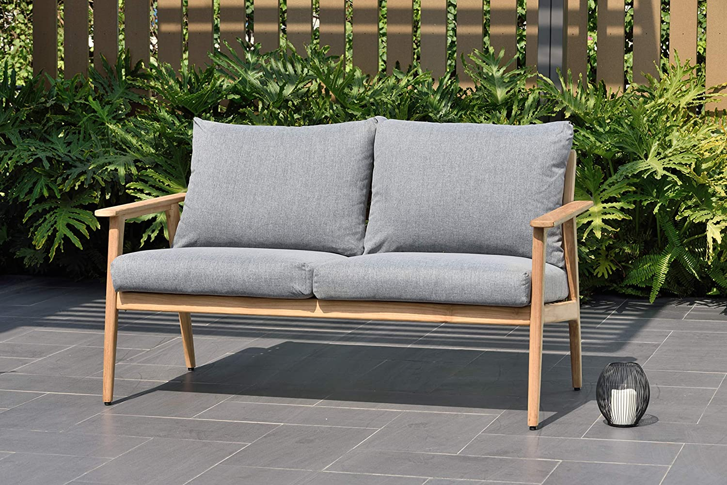 Amazon.com : Amazonia Bedford Patio Sofa | Durable Outdoor ...