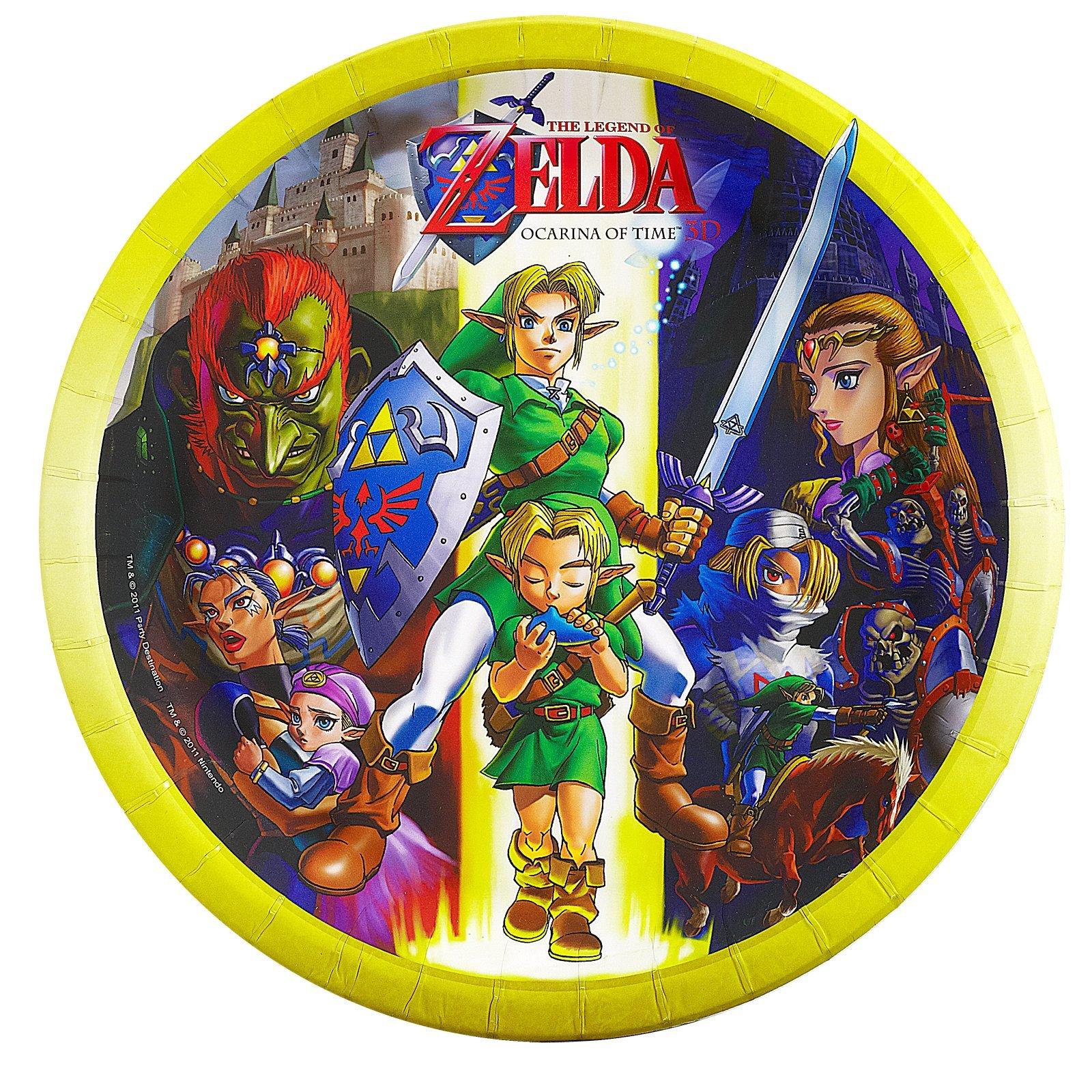 The Legend of Zelda Dinner Plates (8)