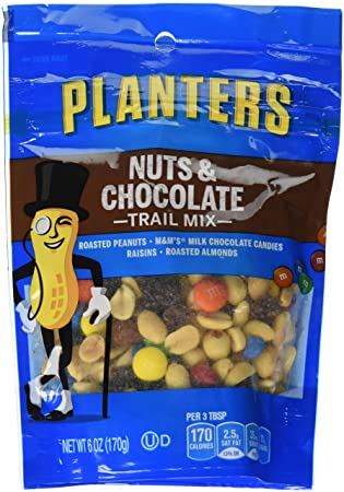 planters chocolate slide milk mixed m raisins s peanuts and trail mountain planter ingredients mix cashews candies nuts almonds
