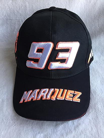 Gorra oficielle 93 Marc Márquez Champion Moto GP arraignée Fluo ...