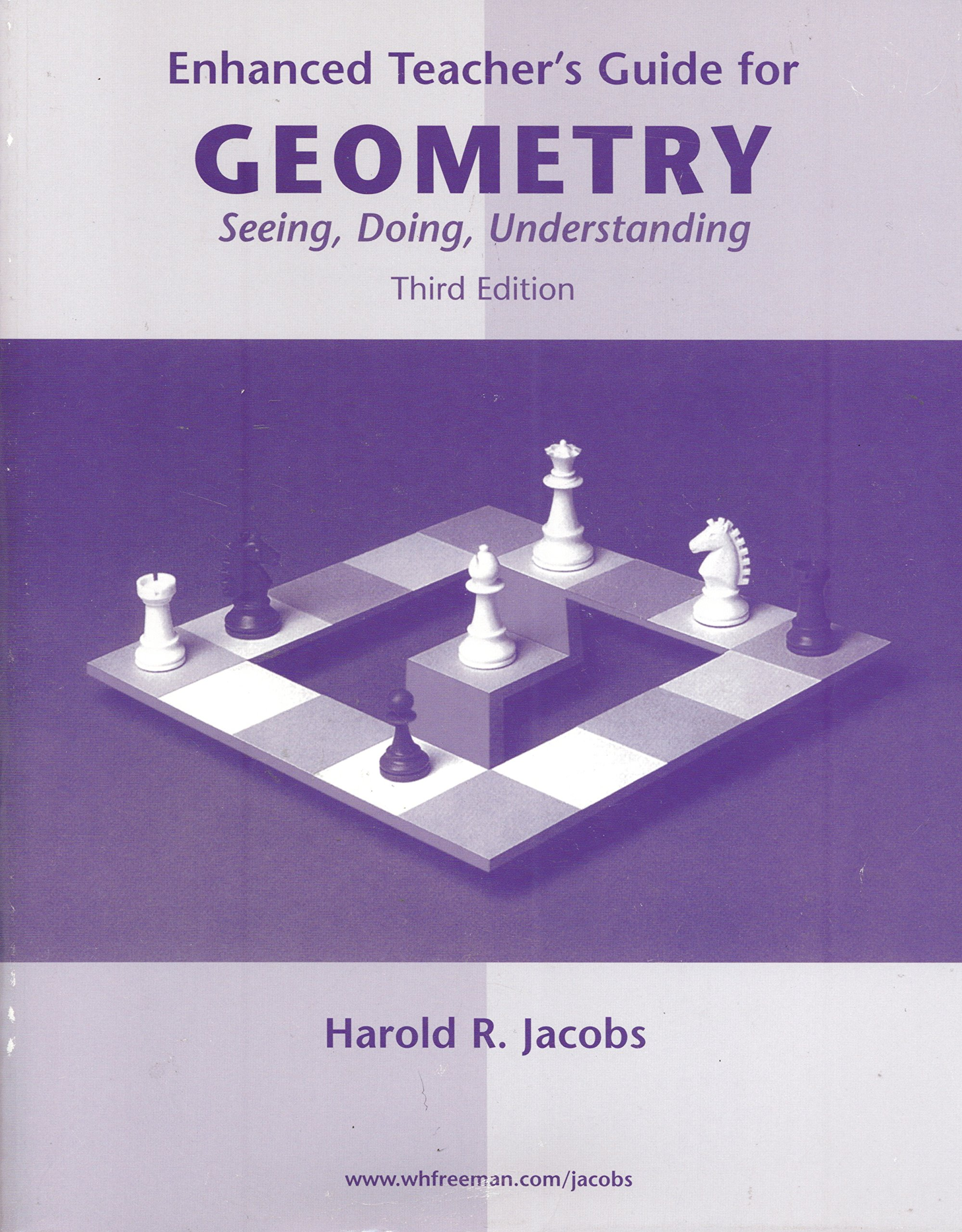 Enhanced Teacher's Guide for Geometry: Seeing, Doing, Understanding, 3rd  Edition: Harold R. Jacobs: 9780716756071: Amazon.com: Books