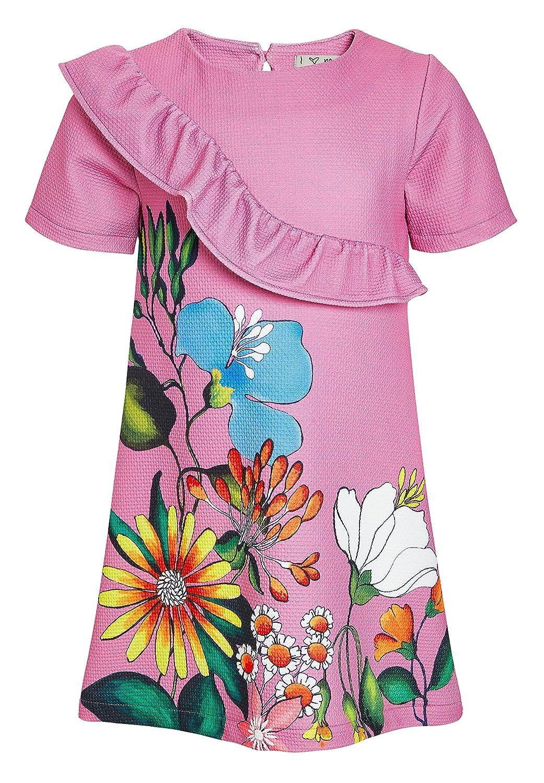next Niñas Vestido Estampado Punto Roma (3-16 Años) Morado 16 años: Amazon.es: Ropa y accesorios