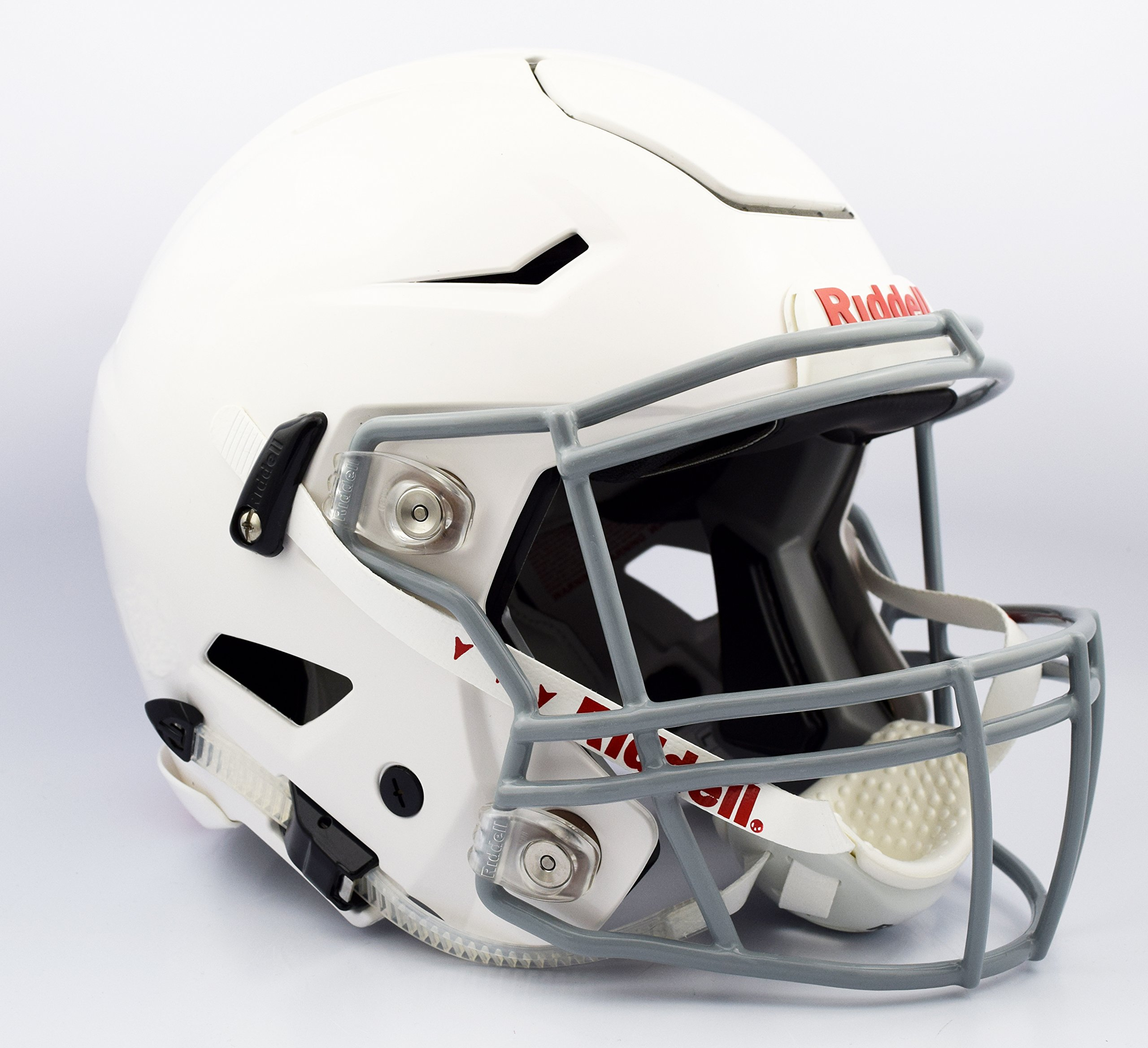 Riddell Speedflex Youth Helmet, White/Gray, Medium