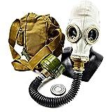 Genuine Original Soviet Russian gas mask GP-5 with black hose Surplus USSR face mask