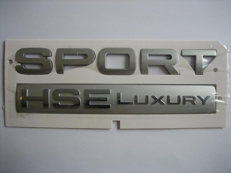 CHROME FINISH SPORT HSE NEW Range Rover Land Rover Sport trunk badge emblem 1