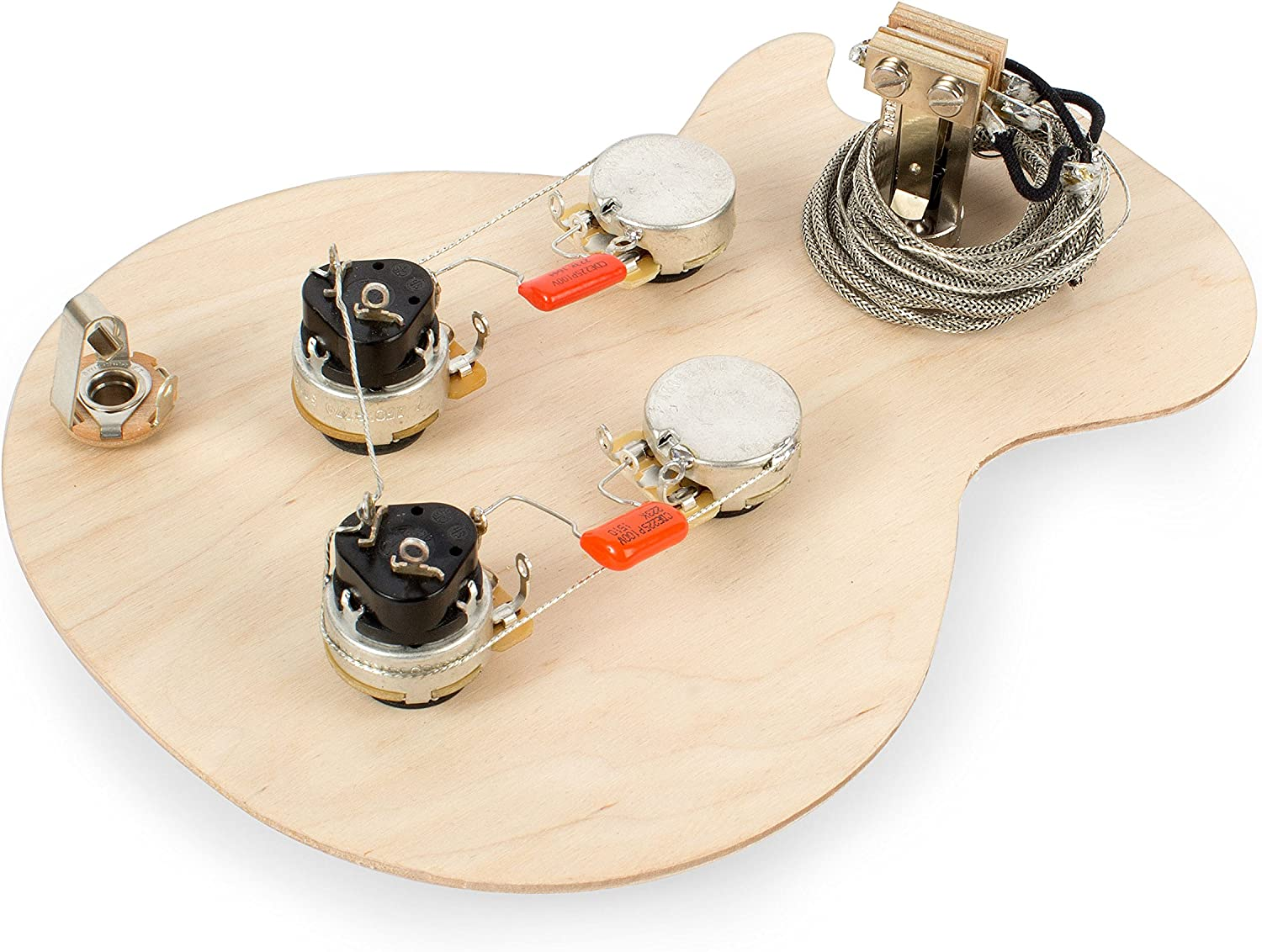 Golden Age Pre-wired Harness for Gibson Les Paul with Push-pull Pots with Standard-shaft CTS Pots