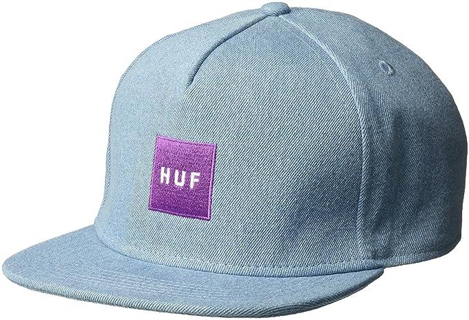 HUF Gorra Denim Box Logo Vaquero: Amazon.es: Ropa y accesorios