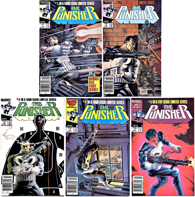 Amazon.com: Punisher #1-5 Complete Limited Series (Marvel ...