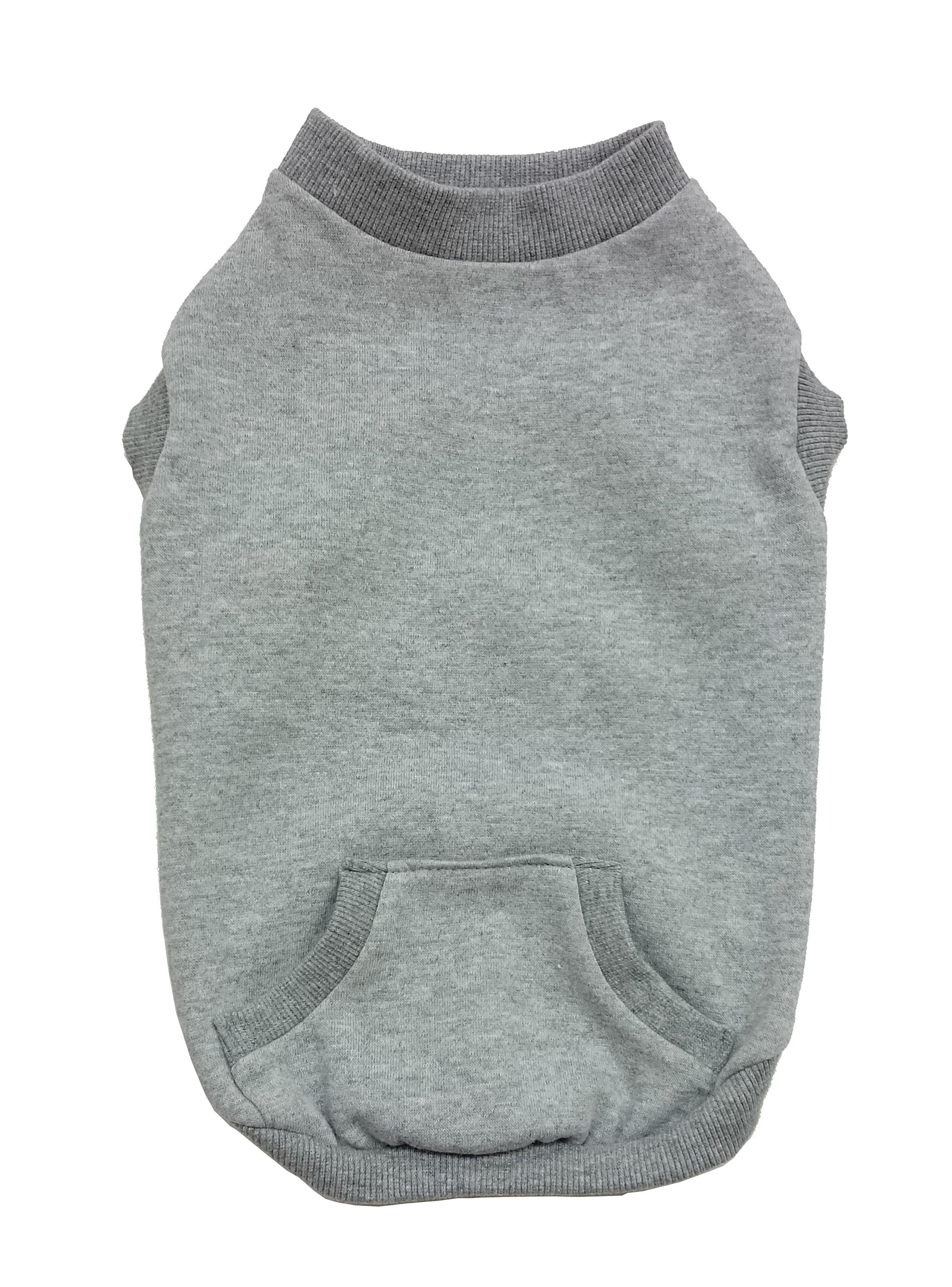 Fashion Pet 550666 Gray Outdoor Dog Sweatshirt, Large