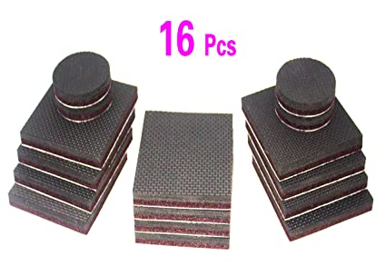 Genial ZDWGJ 3u0026quot; Square Non Slip Furniture Pads,Thick Furniture Grippers,Furniture  Feet Floor