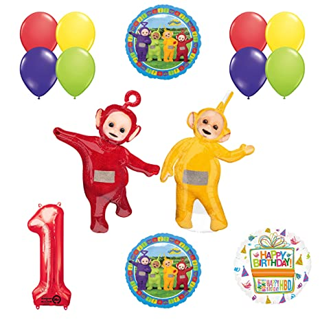 Amazon Teletubbies 1st Birthday LAA PO Balloon Party Supplies And Decorations Toys Games