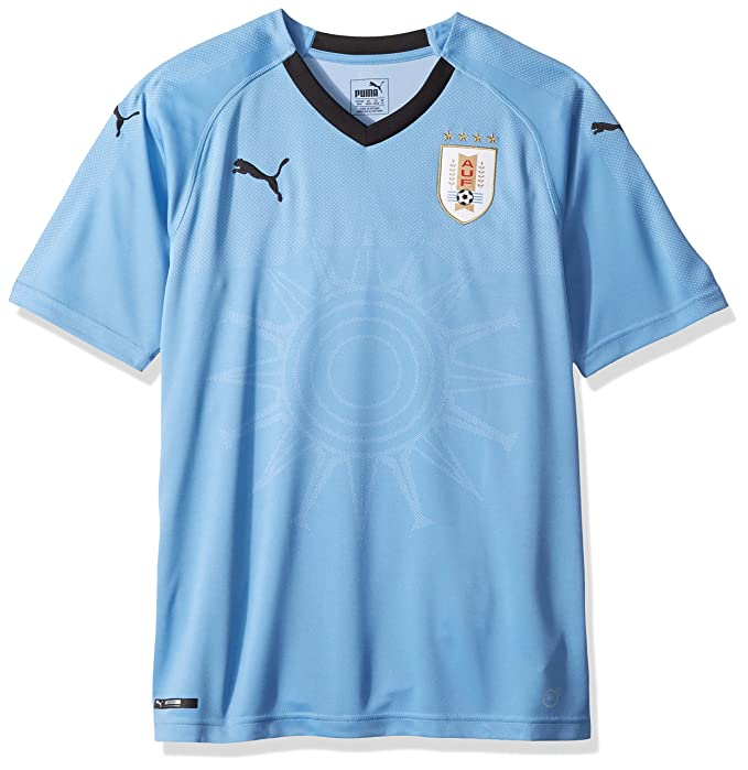 1f3d8a3e PUMA Mens Uruguay Replica Jersey Athletic Shirt: Amazon.ca: Clothing ...