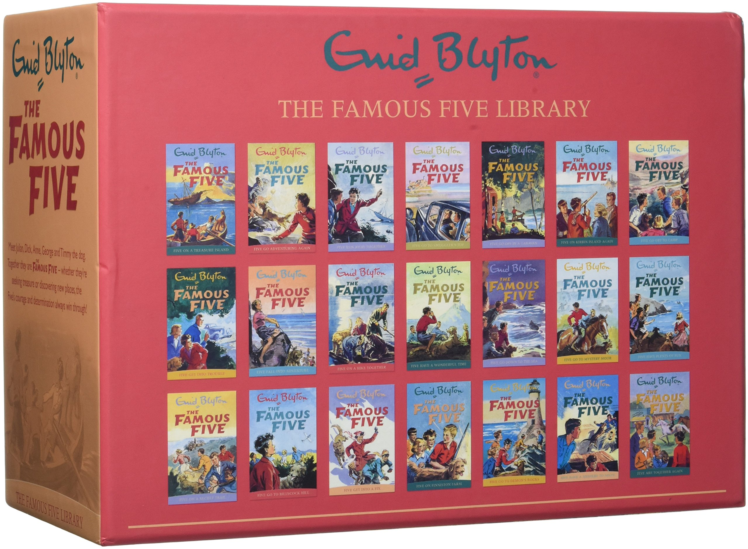 Famous Five Series 21 Books Collection pdf