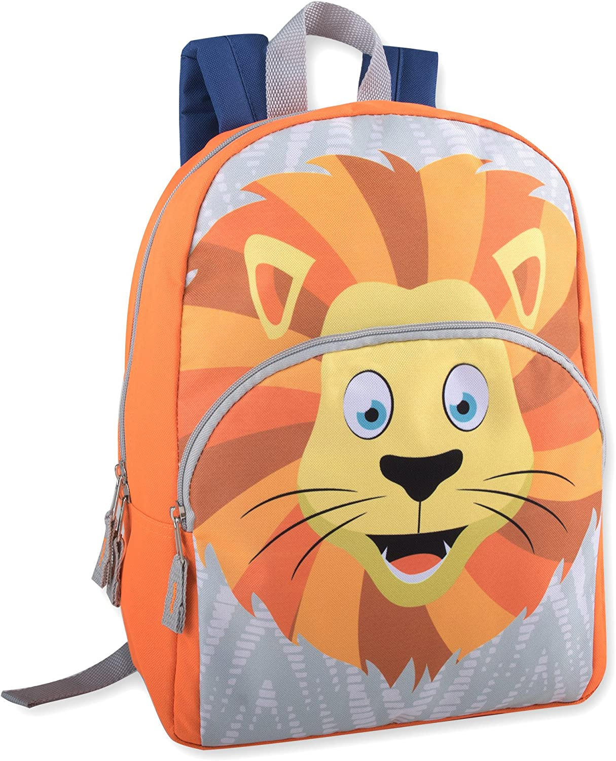 Animal Friends Critter and Creature Preschool, Kindergarten Backpacks for Boys and Girls With Reinforced Adjustable Straps