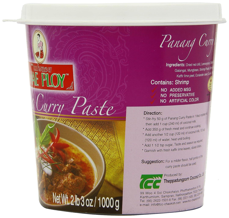 Mae Ploy Panang Curry, Large, 35-Ounce: Amazon.es: Alimentación y bebidas