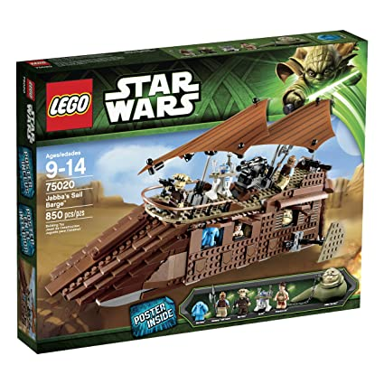 0dee80fa05 Amazon.com: LEGO Star Wars Jabbas Sail Barge 75020 (Discontinued by  manufacturer): Toys & Games