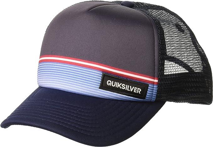 Quiksilver Hombres AQYHA04061 Gorra de béisbol - Azul - Talla ...